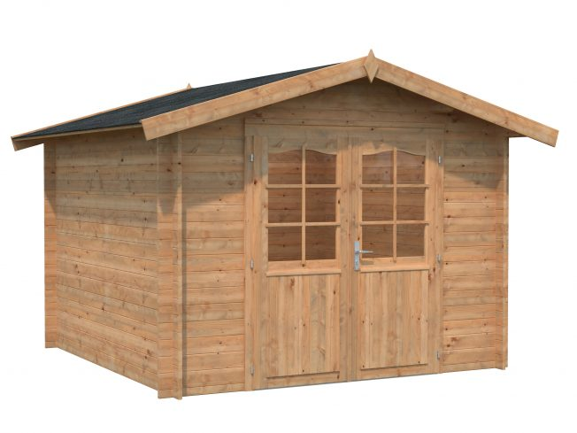 Lotta (7.3 sqm) attractive garden storage shed