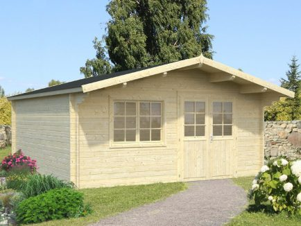 Britta (22.3 sqm) extra large garden log cabin