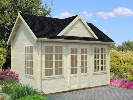 Claudia (11.5 sqm) clockhouse style summer house