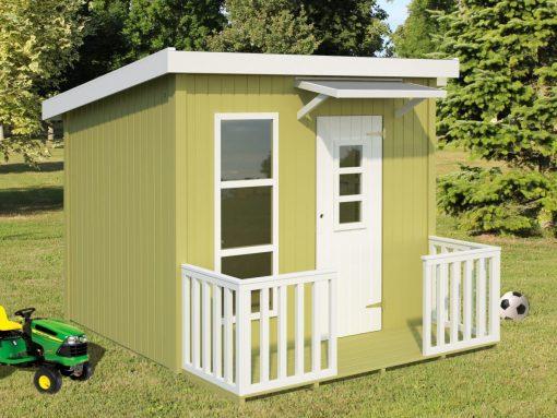 Harry (3.1 sqm) modern timber playhouse