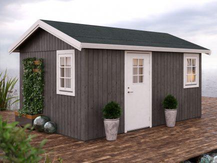 Hedwig (13.6 sqm) modern Nordic garden room