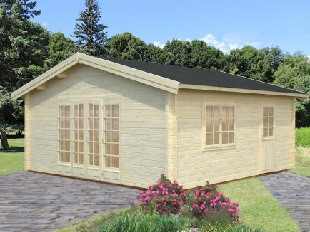 Irene (27.7 sqm) extra large summer house