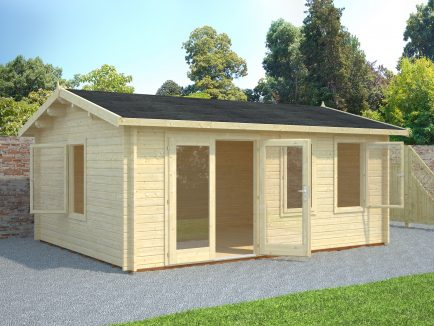 Iris (19.1 sqm) large modern summer house