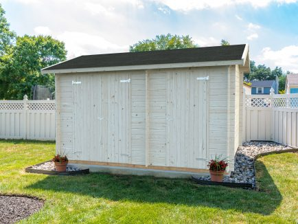 Jari (8.9 sqm) traditional two room garden shed