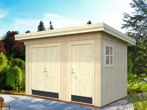 Kalle (6.6 sqm) modern pent storage shed
