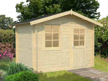 Klara (4.7 sqm) beach hut style garden shed