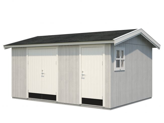 Olaf (13.5 sqm) modern multi-room garden shed