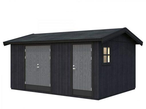 Olaf (13.5 sqm) modern multi-room garden shed