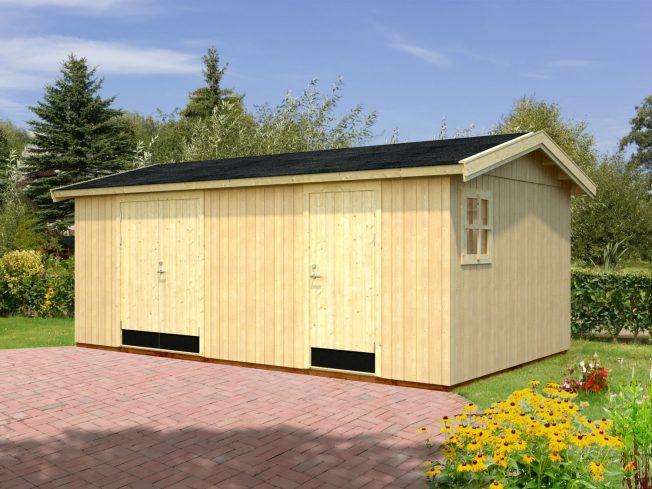 Olaf (16.9 sqm) large two room timber workshop