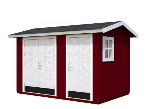 Olaf (6.6 sqm) contemporary timber garden shed