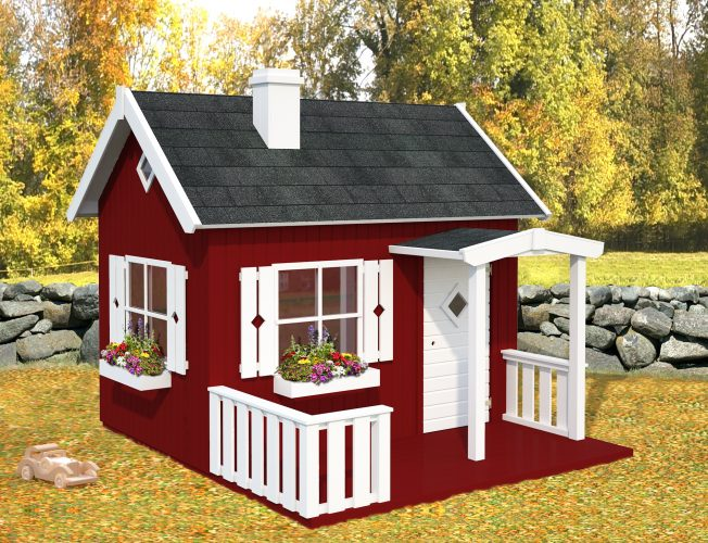 Otto (3.6 sqm) timber cottage playhouse