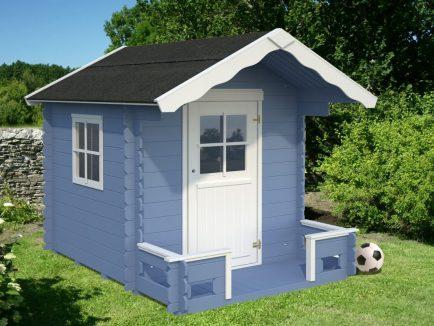 Sam (2.4 sqm) real wood playhouse