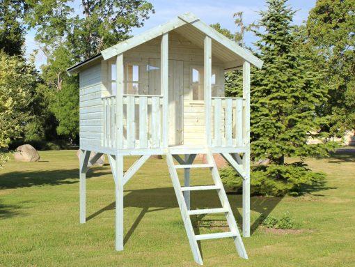 Toby (2.1 sqm) timber playhouse on stilts