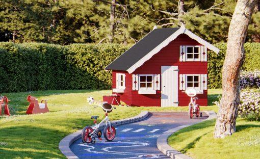 Tom (3.8 sqm) timber chalet playhouse