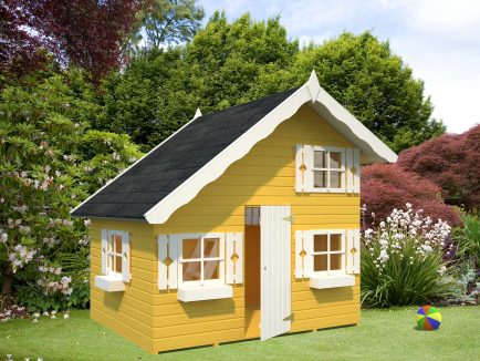 Tom (3.8 sqm) timber chalet playhouse