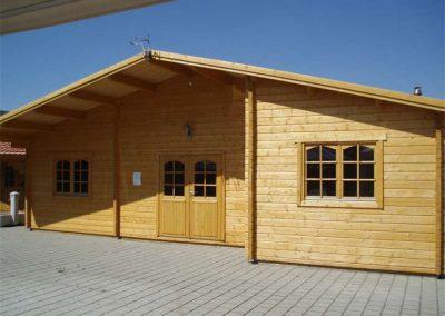 Bespoke log cabin design