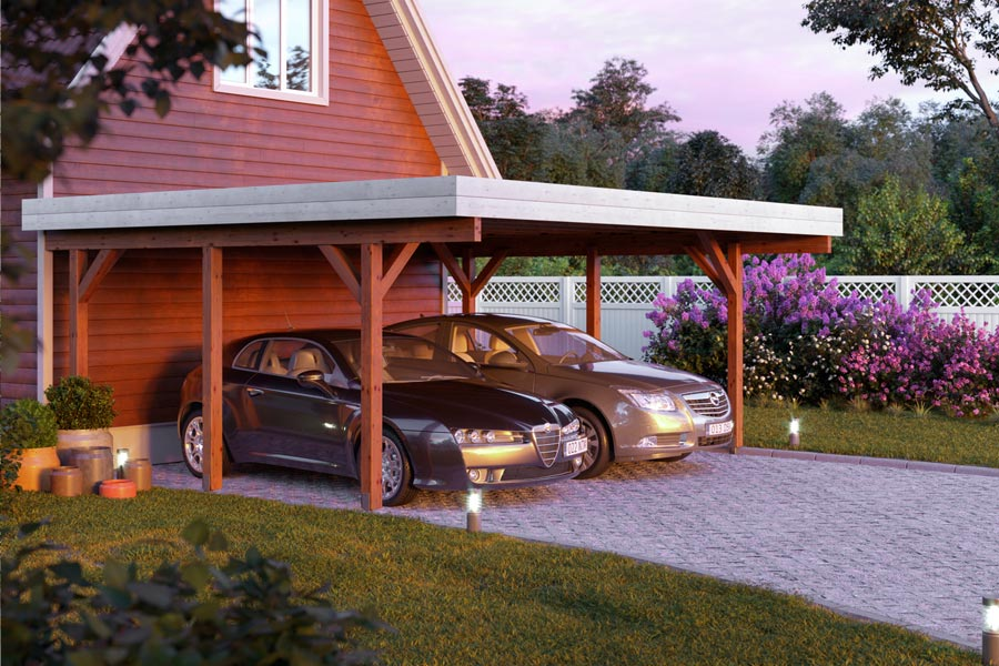 Contemporary carports