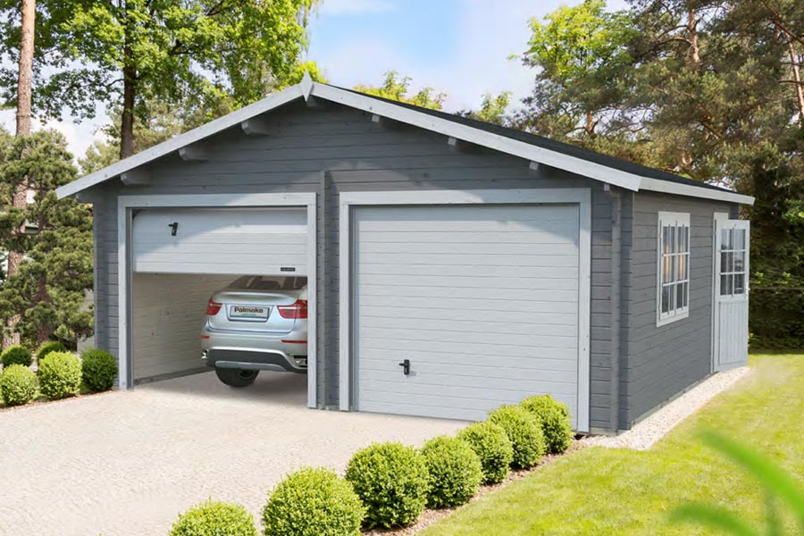 Sturdy timber garages