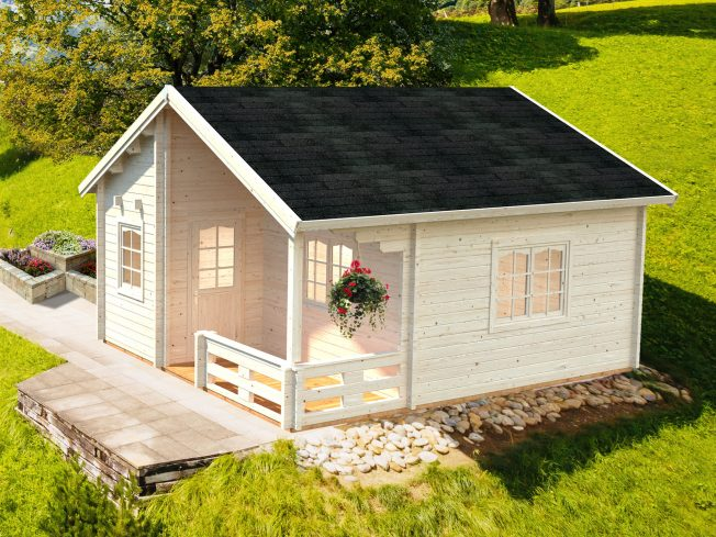 Emily (40.1 sqm + 5.2 sqm) log cabin holiday chalet
