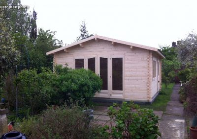 Irene (19.0 sqm or 23.9 sqm) garden log cabin