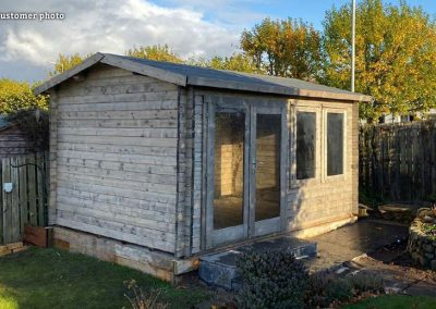 Iris (11.1 sqm) log cabin summer house