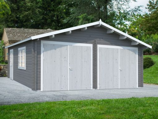 Roger (28.4 sqm) large traditional timber double garage