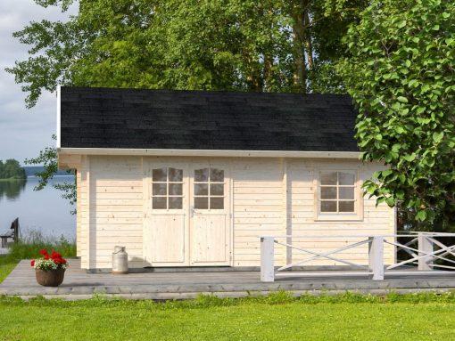 Sandra (29.9 sqm) traditional holiday log cabin