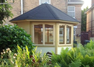Veronica (6.7 sqm) octagonal summer house