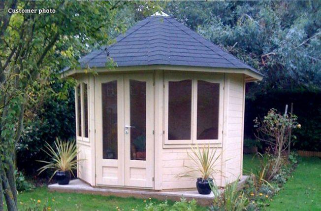 Veronica (6.7 sqm) octagonal summer house