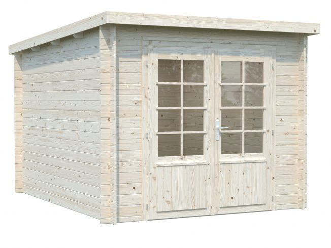 Ella (6.9 sqm) pent summer house with roof extension