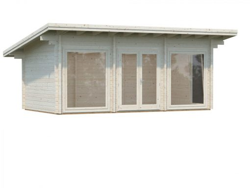 Heidi (19.7 sqm) contemporary heavy duty garden room