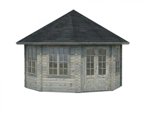 Hanna (14.1 sqm) large octagonal summer house
