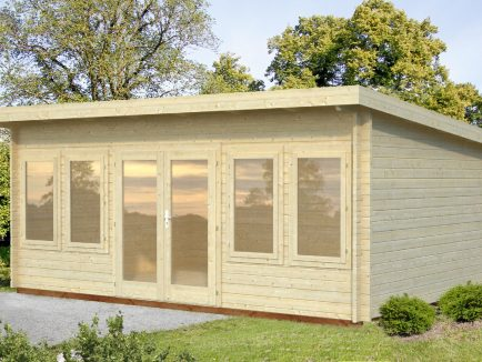 Lisa (19.4 sqm) spacious pent summer house