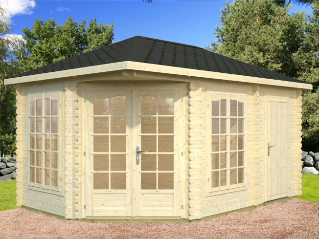 Melanie (10.7 sqm) summer house with separate storage