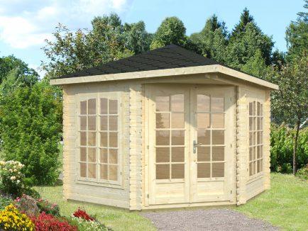 Melanie (6.8 sqm) compact corner summer house