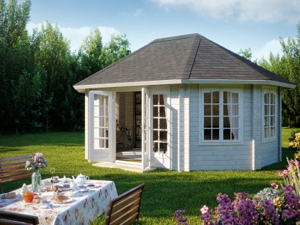 Hanna (20.3 sqm) large timber garden pavilion