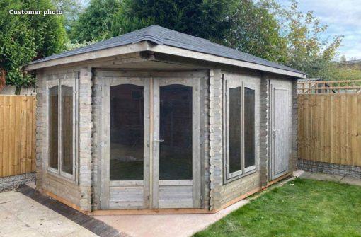 Melanie (10.7 sqm) summer house with separate storage