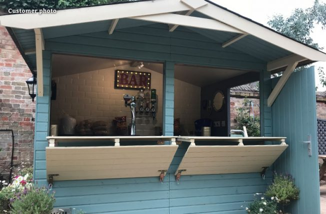 Stella (5.0 sqm) garden drinks bar
