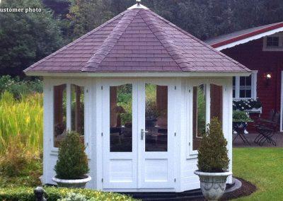 Veronica (9.2 sqm) octagonal garden pavilion