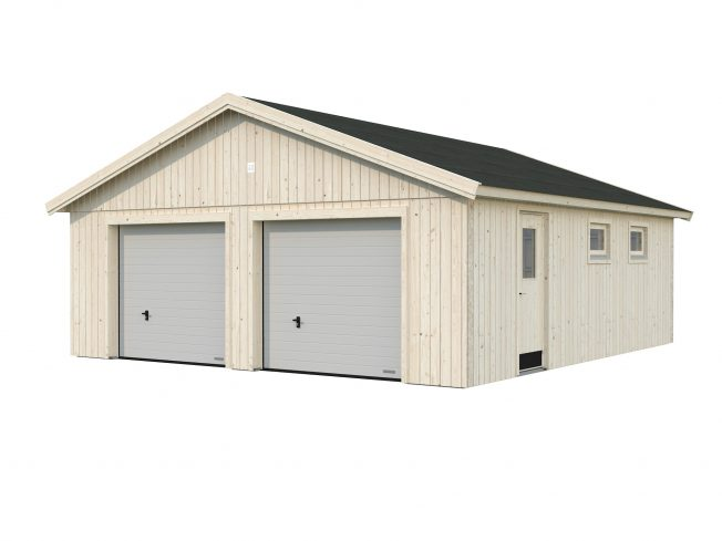 Andre (44.7 sqm) heavy duty DIY timber double garage