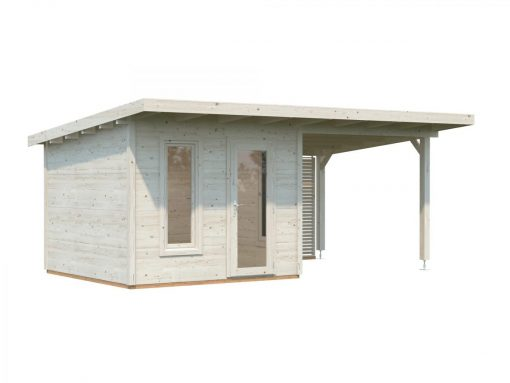 Grace (8.1 sqm) DIY timber garden room with roof canopy