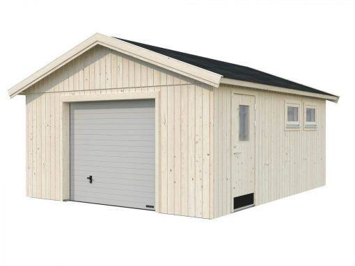 Andre (21.5 sqm) DIY timber single garage