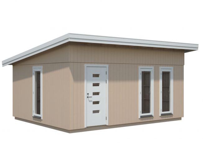 Annika (21.5 sqm) large pent timber garden building