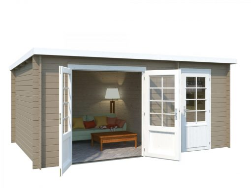 Ella (13.1 sqm) two room summer house with roof extension