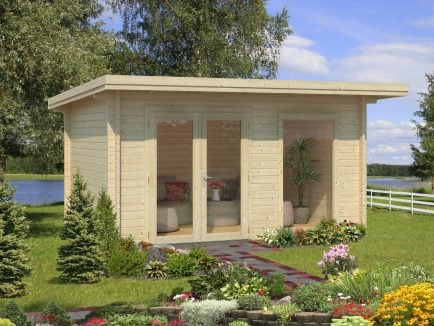 Heidi (11.7 sqm) modern light garden room