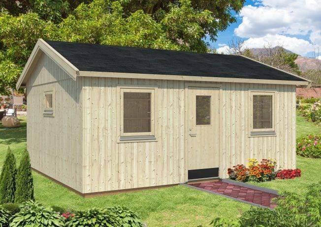 Pernilla (21.5 sqm) spacious modern garden office