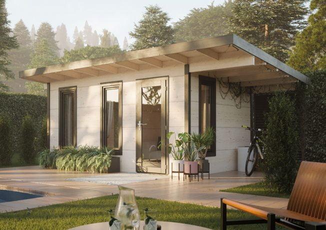 Grace (12.4 sqm) stylish DIY timber garden room